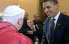 Obama, Pope Convene At Vatican
