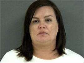 Kimberly Saenz, 35, in photo provided by the Angelina County Sheriff's Office, April 1, 2009.