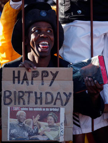 Birthday Celebrations for Mandela