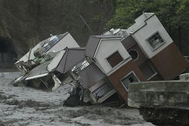 Taiwan Typhoon Aftermath