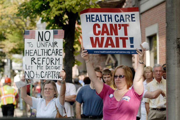 Health Care Town Hall Protests