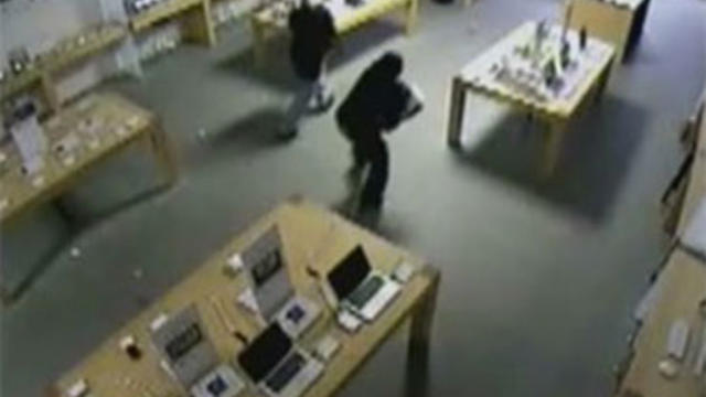 抓住磁带:Apple Store Smash-and-Grab