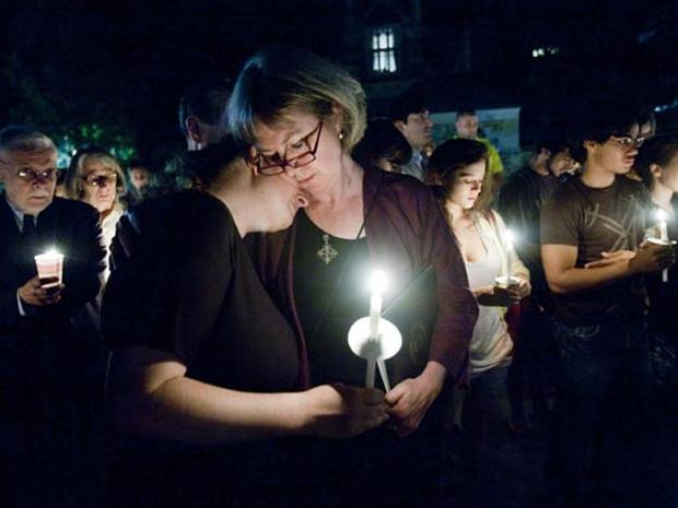 Yale Holds Vigil For Slain Student