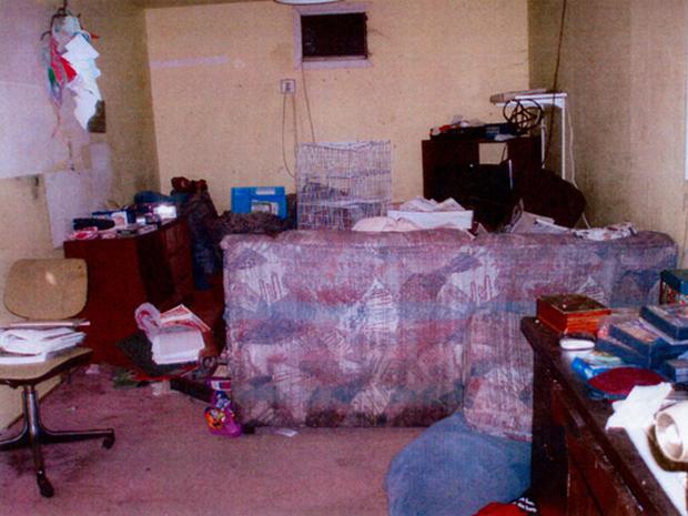 Inside Phillip Garrido's House