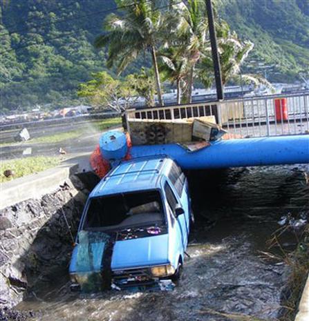 Tsunami Hits Samoa