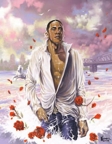 Obama in Art