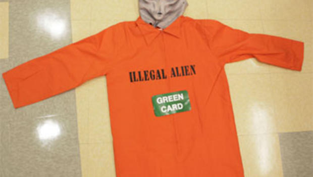 Illegal Alien  Halloween Costume Debated - CBS News & Illegal Alien
