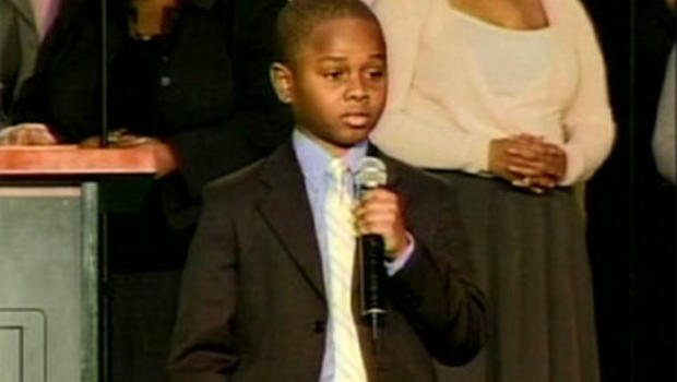 11 year old Jonathan McCoy's give a speech to get rid of the n-word.