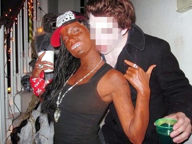 Dallas Cheerleader Black Face?
