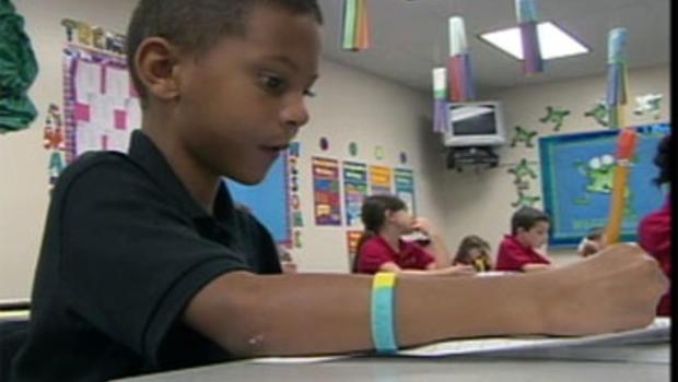 Nine year old Jaylen Arnold battles Tourette's syndrome, and bullies.