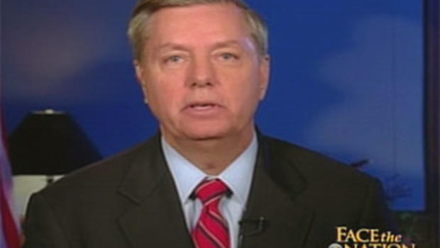"Sen. Lindsey Graham, R-S.C., on ""Face the Nation"""