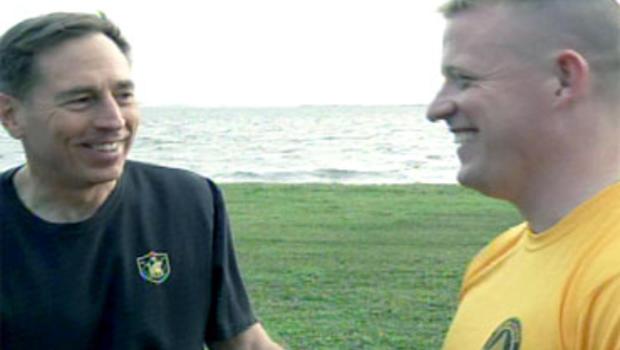 General David Petreaus and Lt. Brian Brennan