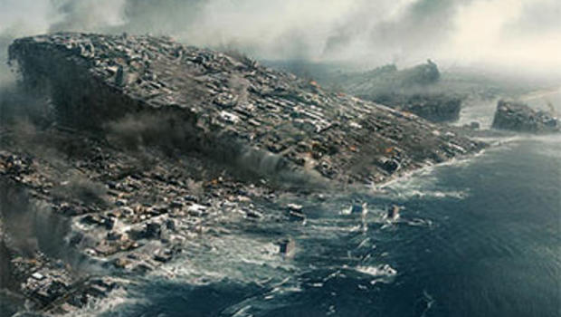 "California slides into the ocean (finally!) in the Doomsday film ""2012."""