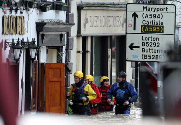 Heavy Floods Hit England