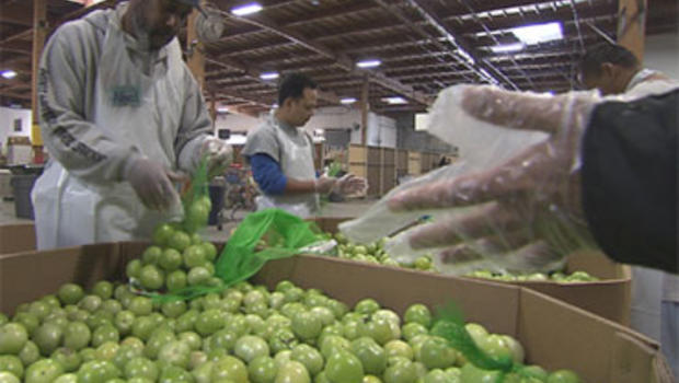 Feeding America helps distribute donated food to agencies across the United States.