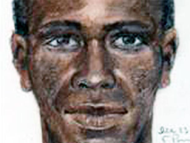 """""""Grim Sleeper"""" Sketch Previously Released by Police (CBS)"""