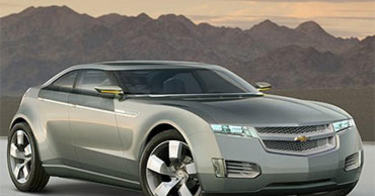 gm hikes production capacity for volt by 50 cbs news. Black Bedroom Furniture Sets. Home Design Ideas