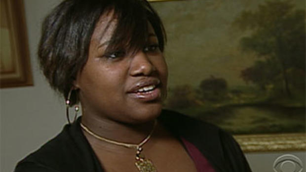"""Trecia Lorelle is one of the thousands of Americans working a series of temporary jobs to get by in this economy as seen in the Dec. 5, 2009, broadcast of the """"Evening News."""""""