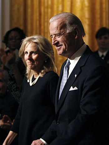 Jill Biden through the years