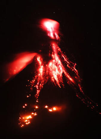 Philippines Volcano Activity