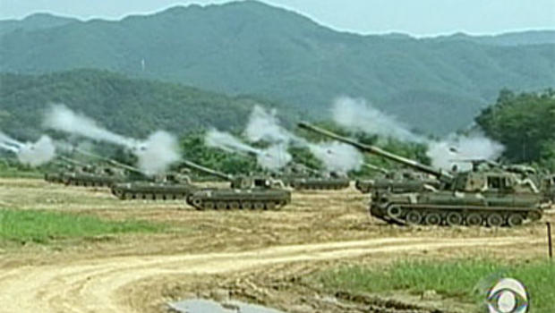 korea potenital attack