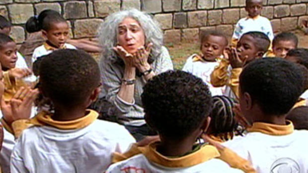 """Dr. Jane Aronson, center, is known as the """"orphan doctor."""""""