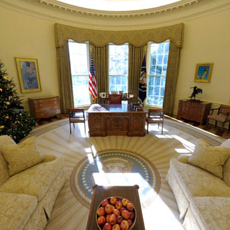 Obama 39 S Oval Office Photo 1 Pictures Cbs News