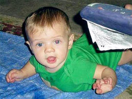The car belonging to Elizabeth Johnson, an Arizona mother who allegedly told her ex-boyfriend she'd killed their 8-month-old son, was found Tuesday in Texas, an FBI spokesman said. But little Gabriel Johnson is still missing.
