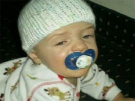 A new photo released by Ariz. investigators of Baby Gabriel, missing since late December 2009.