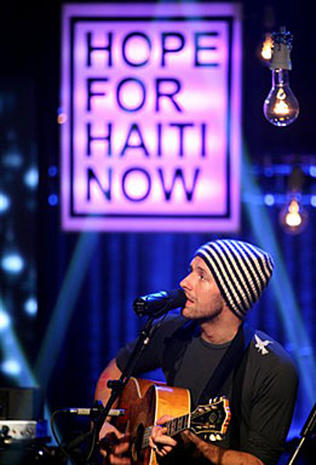 Hope for Haiti:   On Stage