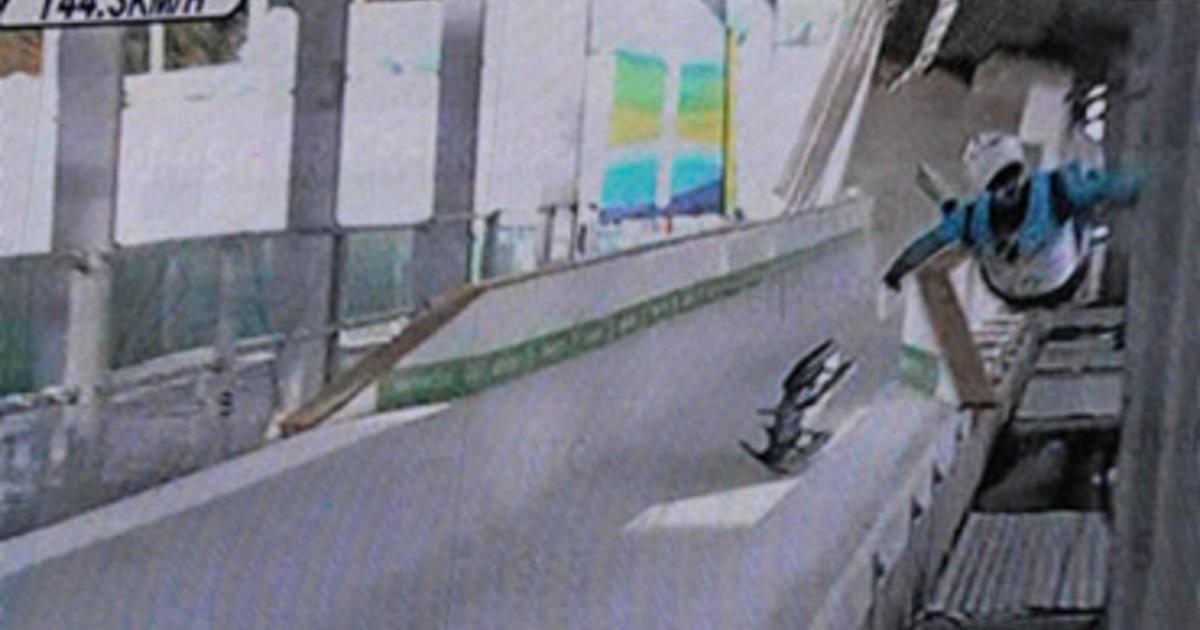 Olympic Luger Killed in Training-Run Crash - CBS News