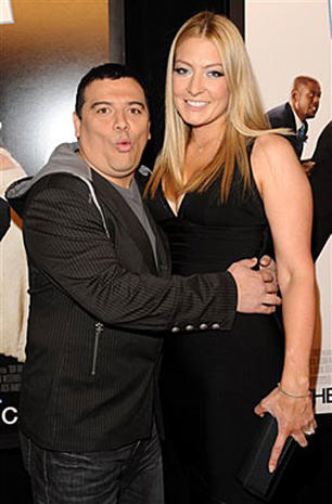 Carlos Mencia with beautiful, Wife Amy Mencia