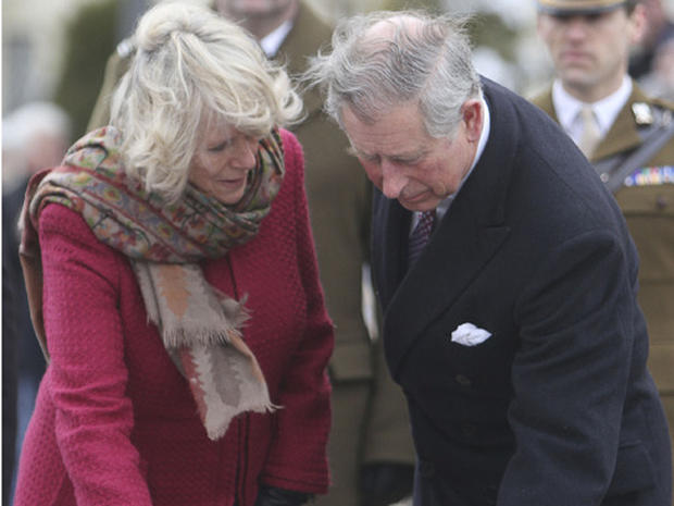 Prince Charles and Camilla in Poland
