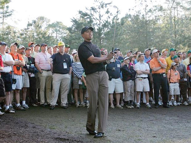 Tigers Woods at the Masters
