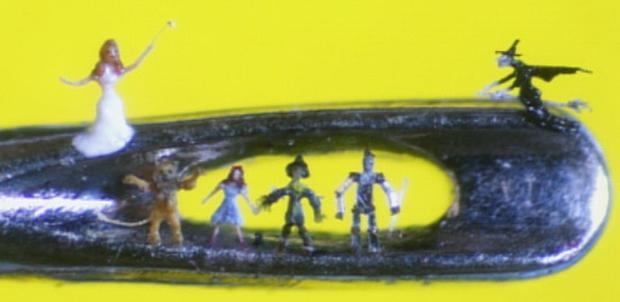 Willard Wigan's Micro Art