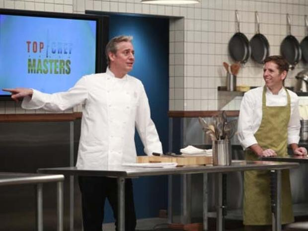 Top Chef Masters Sizzle in the Kitchen