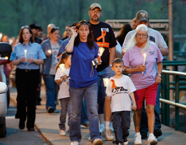 Vigils for West Virginia Miners