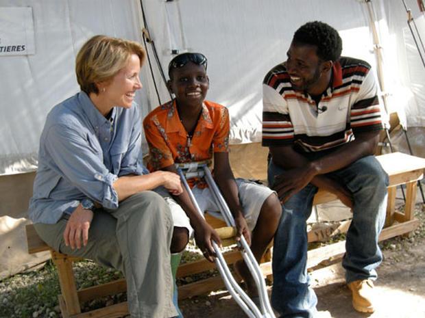 Katie Couric Returns to Haiti