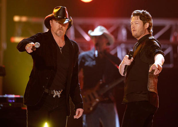 Scenes from the ACM Awards
