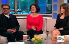Dr. Deepak Chopra, left, Debbie Ford, and Marianne Williamson on The Early Show.