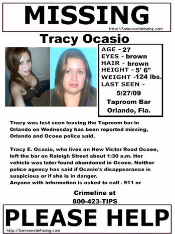 Tracy Ocasio Missing