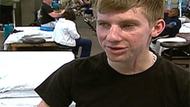 Brendan Marrocco lost four limbs to an IED in Northern Iraq.