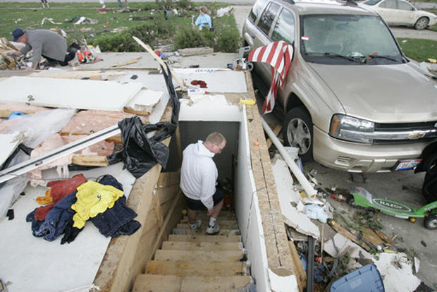 Tornadoes Sweep Through Midwest