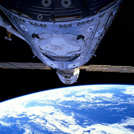 Heading for the International Space Station