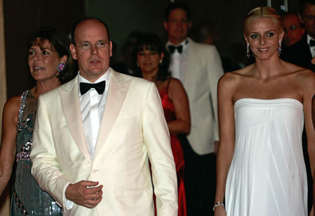 Charlene Wittstock and Prince Albert II
