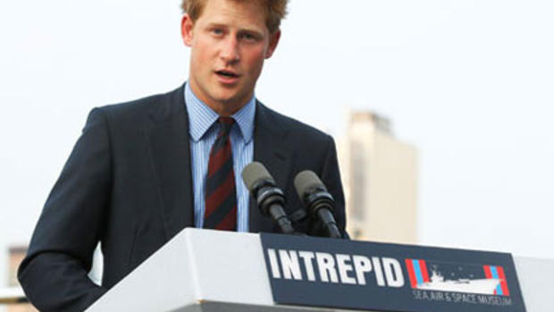 Prince Harry in New York