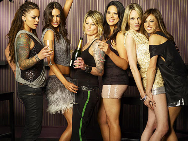 """Showtime's """"Real L Word"""" cast."""