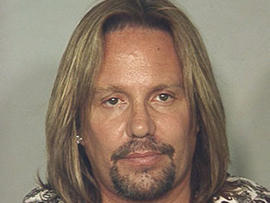 Vince Neil Mug Shot (AP Photo/Las Vegas Metropolitan Police Department)