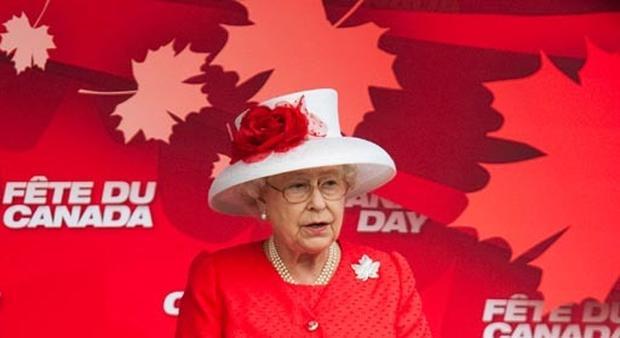 Queen Visits Canada