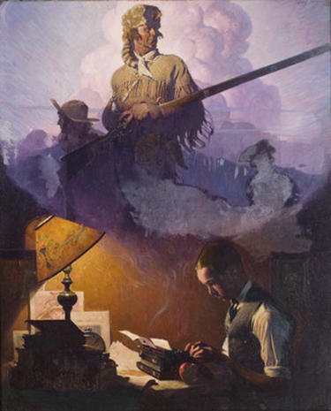 Lucas and Spielberg on Norman Rockwell